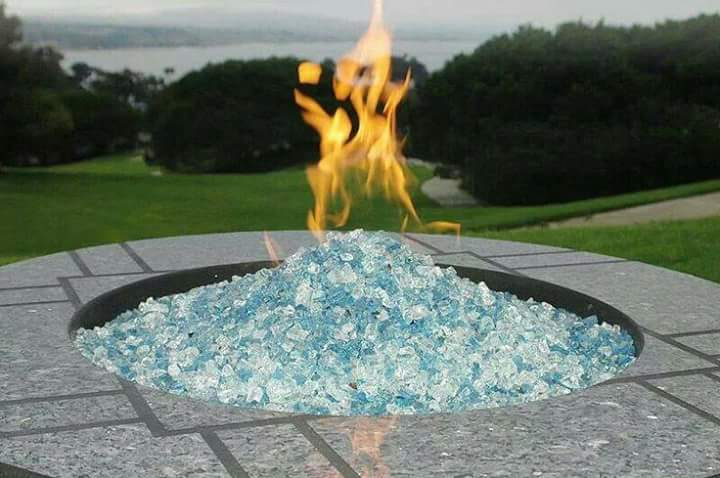 Firecrystals Glass Fireplace Amp Fire Pit Rocks