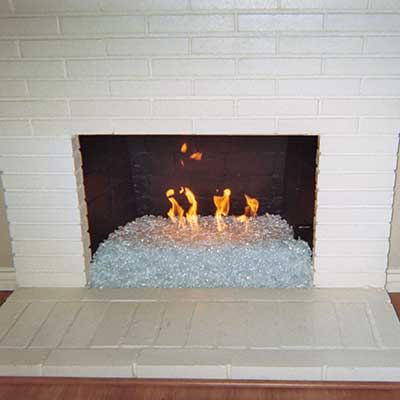 Firecrystals Glass Fireplace Fire Pit Rocks